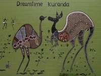 Dreamtime Wall - Kuranda, Tropical Queensland, OZ