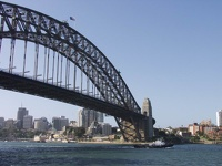 Harbour Bridge East - Sydney, OZ
