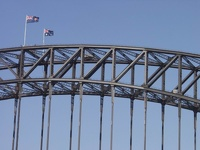 Harbour Bridge Top - Sydney, OZ