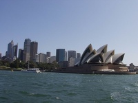 Opera House & City Center - Sydney, OZ