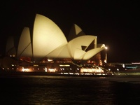Opera House by night - Sydney, OZ
