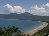 Pebbly Beach - Rex Lookout, Trinity Bay, Tropical Queensland, OZ