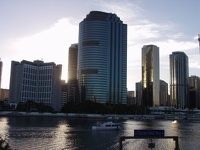 River Skyline - Brisbane, East Coast Queensland, OZ