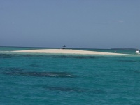 Sand Island - Upolu Cay, Barrier Reef, Queensland, OZ
