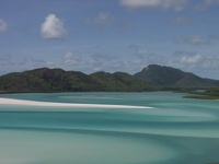 Whitehaven Inlet -  Whitsunday Island, Queensland, OZ