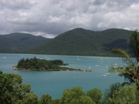 Yachts around Daydream Island - The Whitsunday Islands, Airlie Beach, East Coast Queensland, OZ