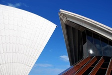 Detail of Opera House - Sydney, New South Wales, Australia