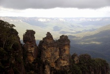 The Three sisters - Katoomba, Blue Mountains, New South Wales, Australia