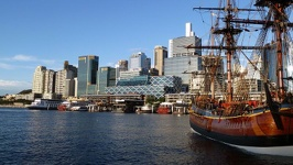 View of Darling Harbour - Sydney, New South Wales, Australia