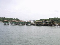 Village on stilts - Bang Bao Sea Huts, Koh Chang, Thailand