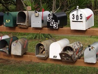 Maui News in Postbox - Eastside Maui