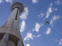 Sky Jumping - Sky Tower, Auckland