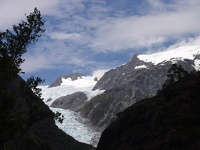 Blue Ice Tongue - Franz Josef Glacier, Westland Glacier Country, South NZ