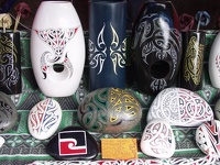 Maori Art - Christchurch Weekend Market, South NZ