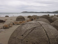 Moeraki Boulders - Waitaki District, Coastal Otago, South NZ