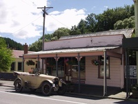 Oldtimer in Lawrence - Coastal Otago, South NZ