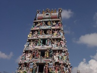 Little India on top - Sri Mariamman Temple, Singapore