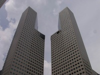 Tower Twins - Suntec City Mall, Singapore