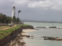 Light house of Galle  - Old town Galle, Southern Province Sri Lanka