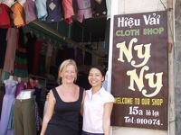 Hils favourite tailor - Hoi An, Central Vietnam