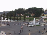 Roundabout at the Lake - Dalat, Southern Vietnam