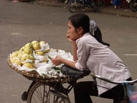 Waiting for Customers - Old Quarter, Hanoi, Vietnam