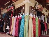 Womens shopping paradise - Hoi An,  Central Vietnam