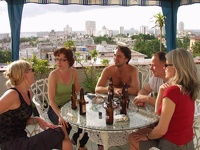 beautiful  roof top garden - Casa Graciella, Vedado, Havana, Cuba