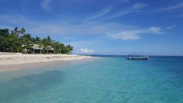 Bures on Beachcomber Island - Mamanuca Group Fiji Islands