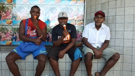 Fijjian Ice cream break - City of Lautoka Fiji Island Viti Levu