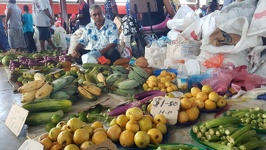 Fruit and veggies on market - City of Lautoka Fiji Island Viti Levu
