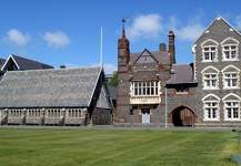 Magnificent precint of buildings - Christ's College, Christchurch, NZ