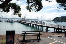 City Pier - Russell, Bay of Islands, North NZ