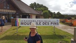 Arrival on the Ile des Pins - Moue Airport Ile des Pins New Caledonia