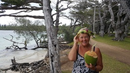 Coconut Lady - Kanumera beach Ile des Pins New Caledonia