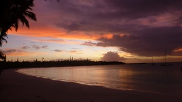 Sunset - Kuto beach Ile des Pins New Caledonia