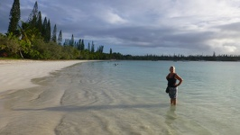 Water like champagne - Kuto beach Ile des Pins New Caledonia