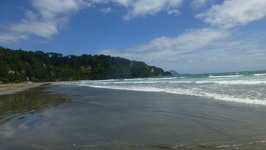 End of the beach - Ohope Beach Tauranga Region North New Zealand