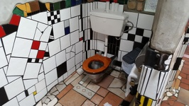 Famous loo - Kawakawa Northland Region North New Zealand