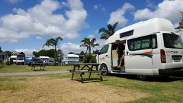 Going out - Beachhaven Holiday Park Waihi beach Tauranga Region North New Zealand