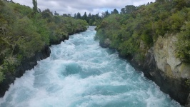 Lots of water - Huka Falls Taupo North New Zealand