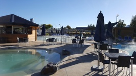 Morning at Top 10 - Holiday Park Taupo North New Zealand