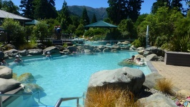 Hot pools - Thermal Park Hanmer Springs New Zealand