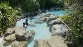 Hot river - Thermal Park Hanmer Springs New Zealand