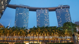 By dawn - Marina Bay Sands Hotel Singapore