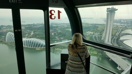 Cabin with a view - Singapore Flyer Singapore