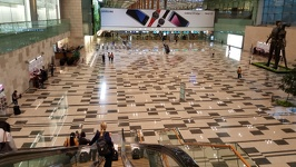 Immigration hall - Changi Airport Singapore