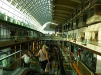 Long distance walking - Shopping Center Marina Bay Sands Singapore