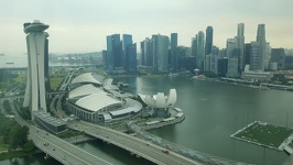 Looking down - Marina Bay Singapore