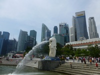 Merlion - Esplanade Marina bay Singapore
